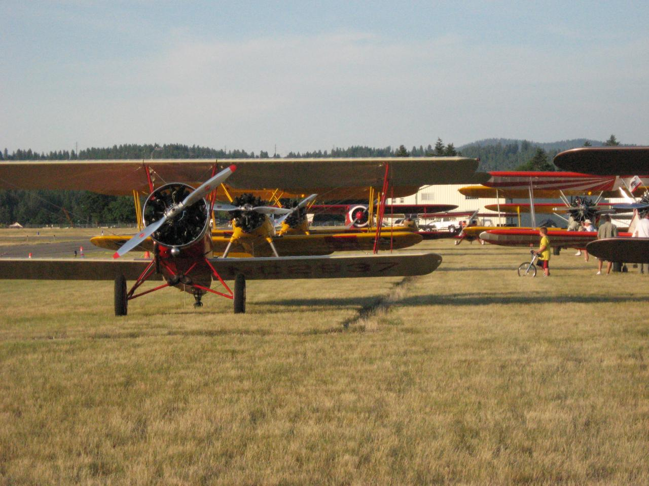Register for the NW Biplane Fly-In